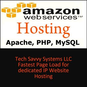 Amazon Web Services Hosting PHP